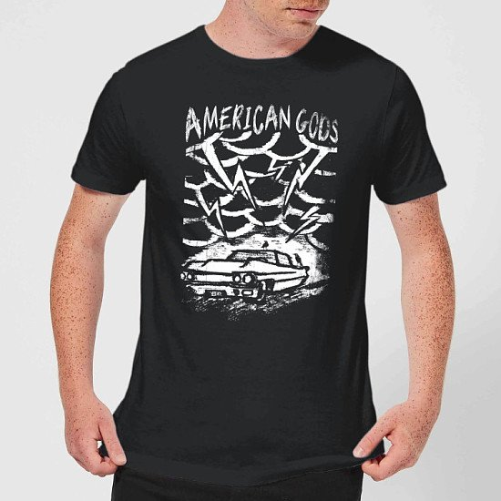 Save on the Tee of the Week- American Gods Car Storm T-Shirt