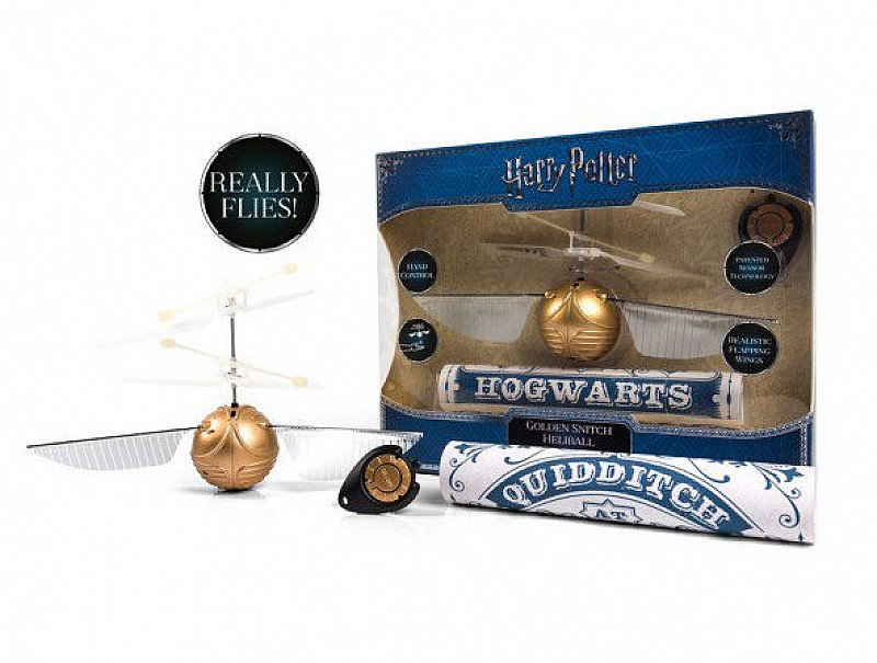 SAVE- HARRY POTTER - FLYING GOLDEN SNITCH HELIBALL