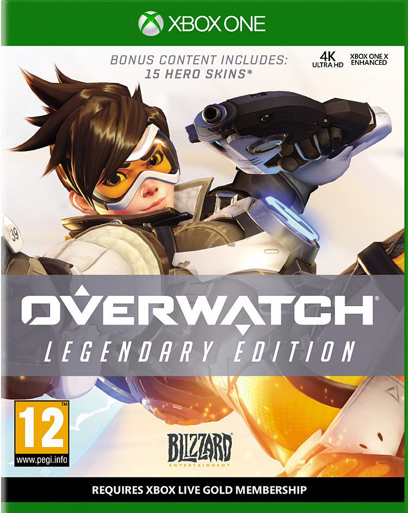 SAVE- OVERWATCH LEGENDARY EDITION