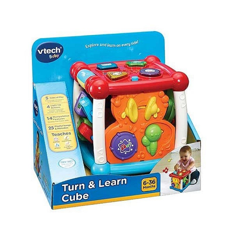 Save- Vtech Turn & Learn Cube