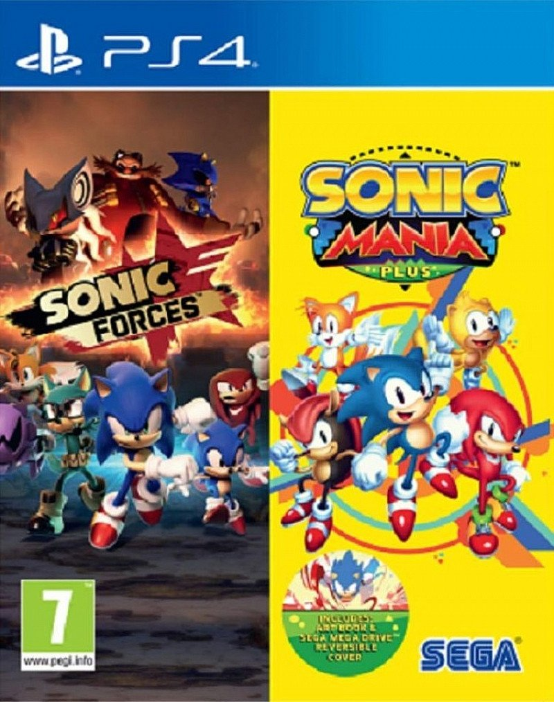 SAVE- SONIC FORCES & SONIC MANIA PLUS DOUBLE PACK - ONLY AT GAME