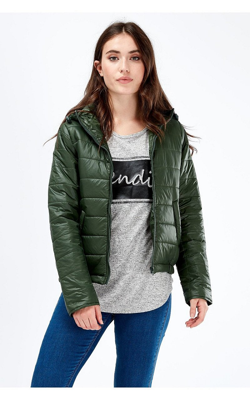 SAVE- HOODED PUFFA JACKET
