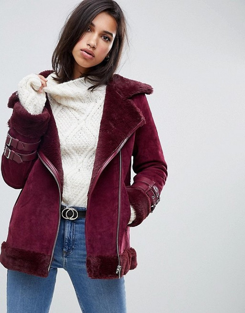 SAVE on Christmas Gifts - ASOS DESIGN suede aviator!
