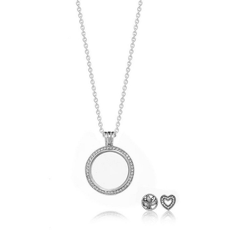 PERFECT FOR CHRISTMAS - SPARKLING FAMILY LOCKET GIFT SET!