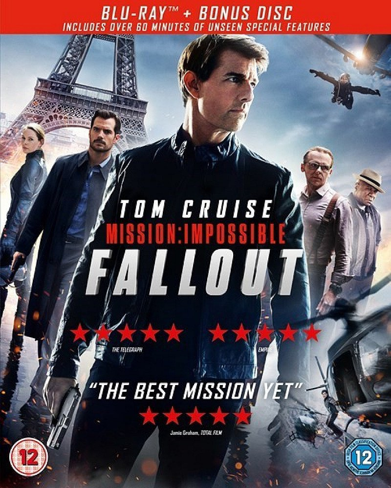 Blu-ray 2 for £25 - Inc. Mission: Impossible - Fallout!