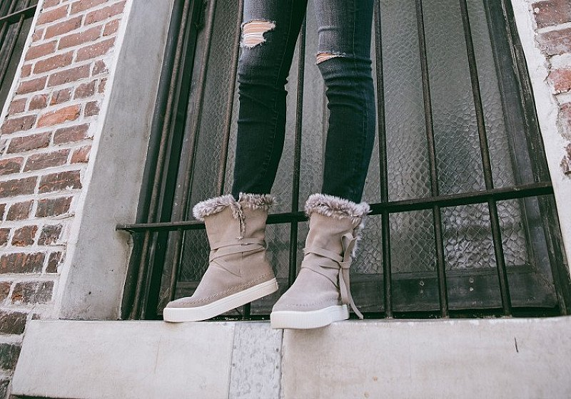 SACE ON WINTER SALE - Desert Taupe Suede Women's Vista Boots!