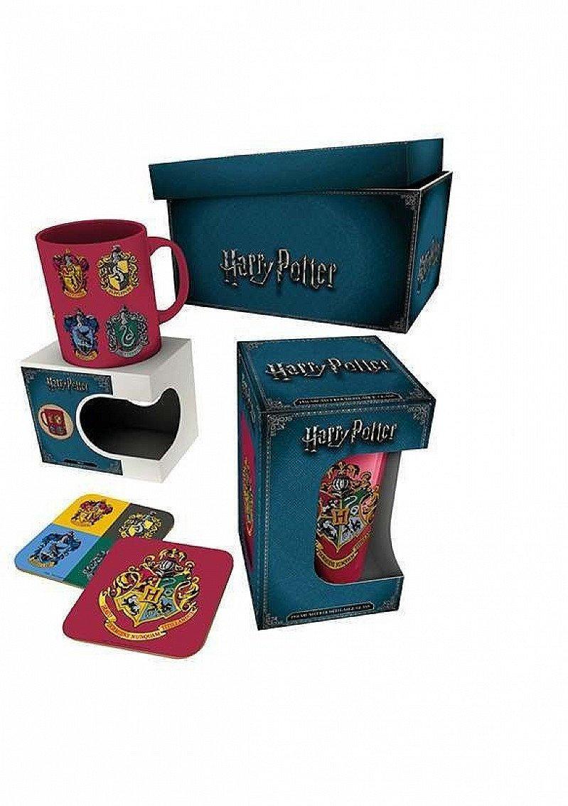 SALE, SAVE ON GIFT SETS - HARRY POTTER CRESTS GIFT BOX!