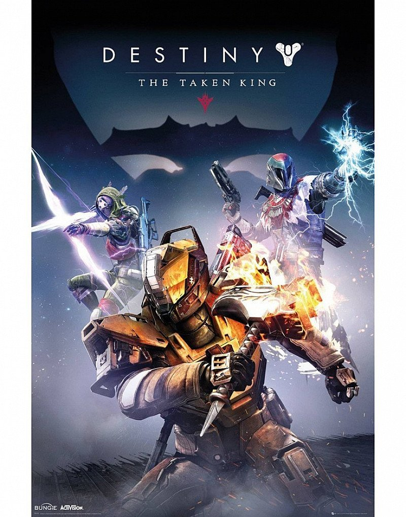 SALE, SAVE ON GB POSTERS - DESTINY TAKEN KING MAXI POSTER!