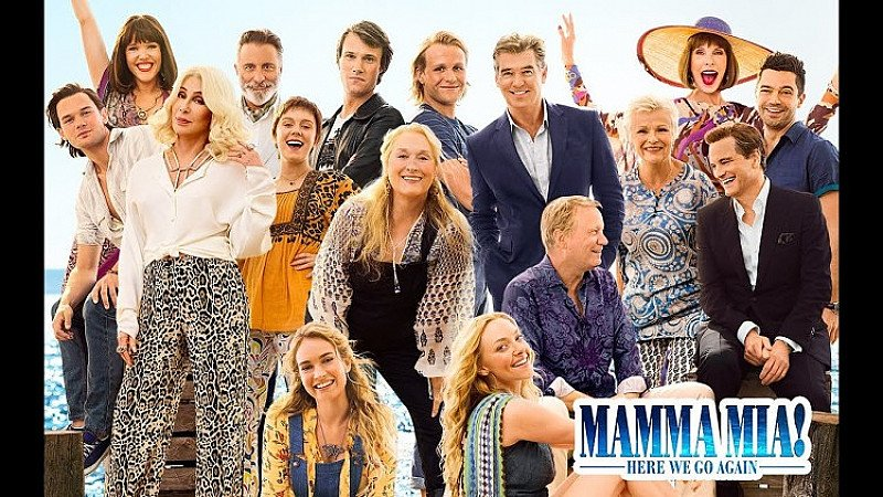FREE UK DELIVERY ON SOUNDTRACKS - Mamma Mia! Here We Go Again!