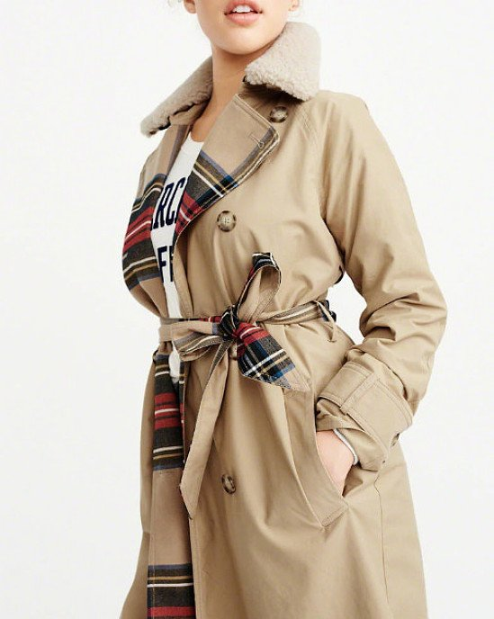 SALE, SAVE ON COATS - WINTER TRENCH COAT!