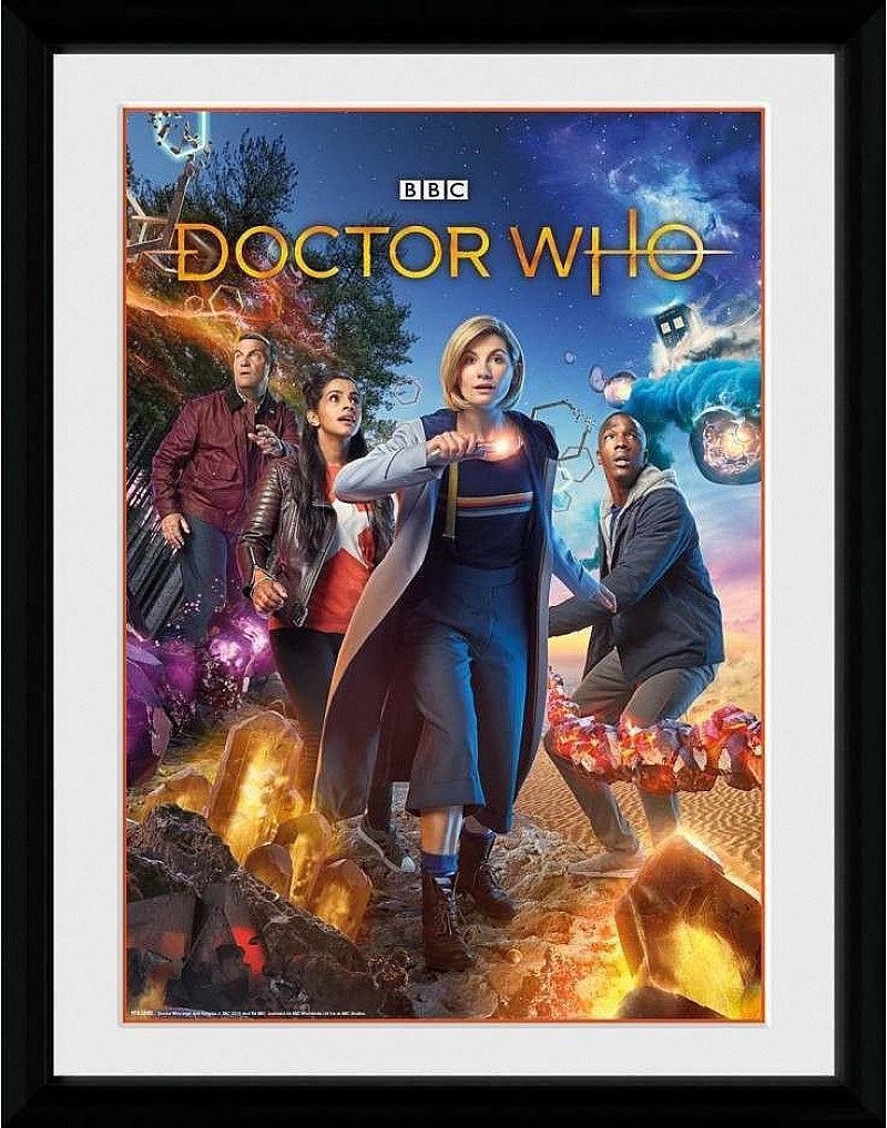 SALE- DOCTOR WHO GROUP COLLECTOR PRINT