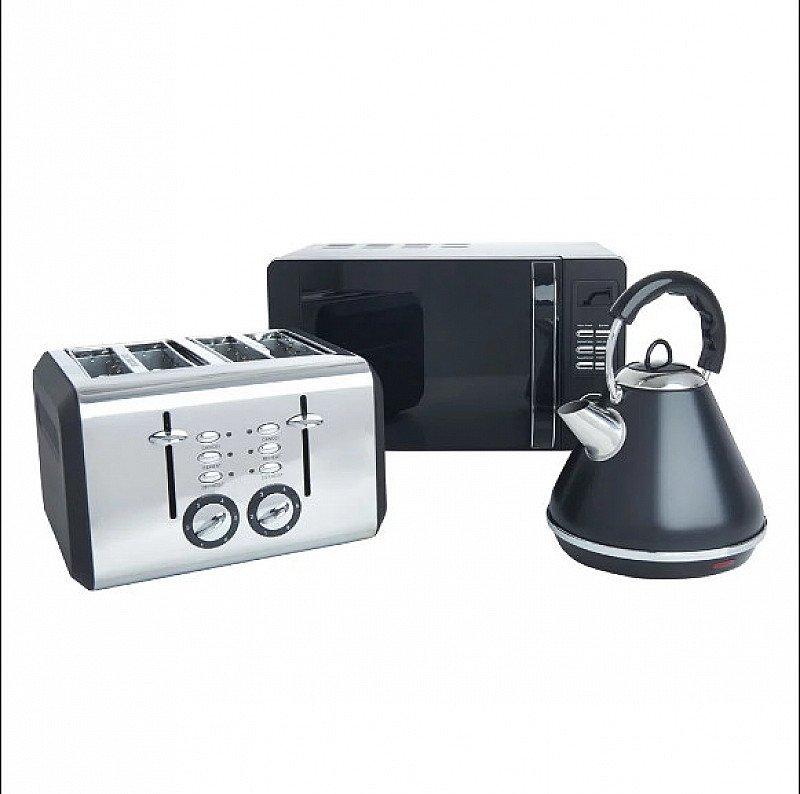 Save- Matt Black Appliances Bundle