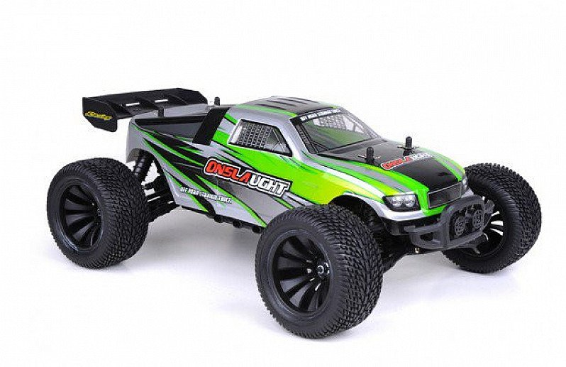 SAVE- RC GROUND CRUSHER TRUGGY GREEN