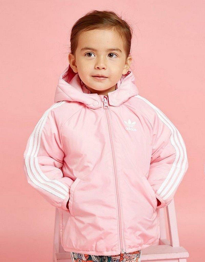 SALE, GET 50% OFF CHILDREN'S CLOTHING - adidas Originals Girls' Trefoil Padded Jacket Infant!