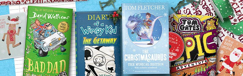 GET UP TO 50% OFF CHILDREN'S BOOKS -