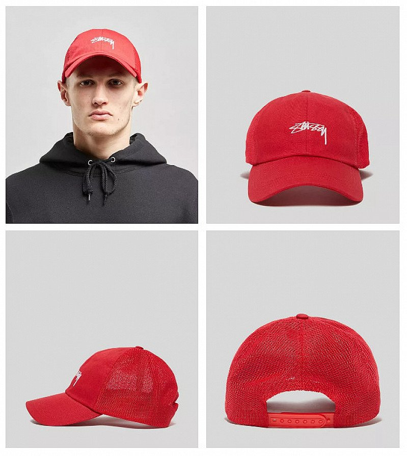 SALE ON ACCESSORIES, SAVE £20.00 - Stussy Stock Low Pro Trucker Cap!