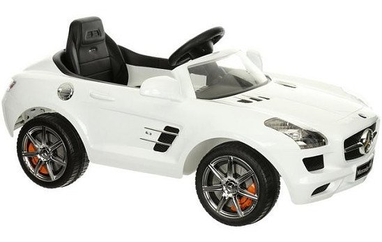 SALE, SAVE £60.00 - Mercedes SLS 6V Electric Ride On Car with Remote Control!