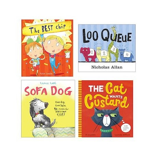 SALE ON CHILDRENS BOOKS - Funny Picture Books Pack x 4!