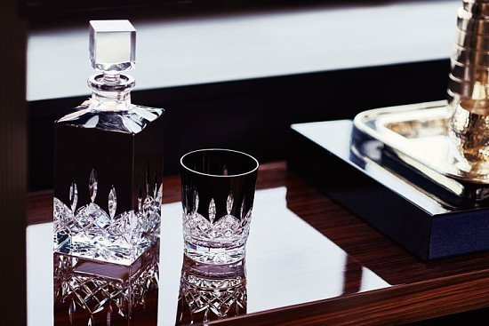 SAVE 25% ON LISMORE BLACK COLLECTION - Lismore Black Square Decanter!