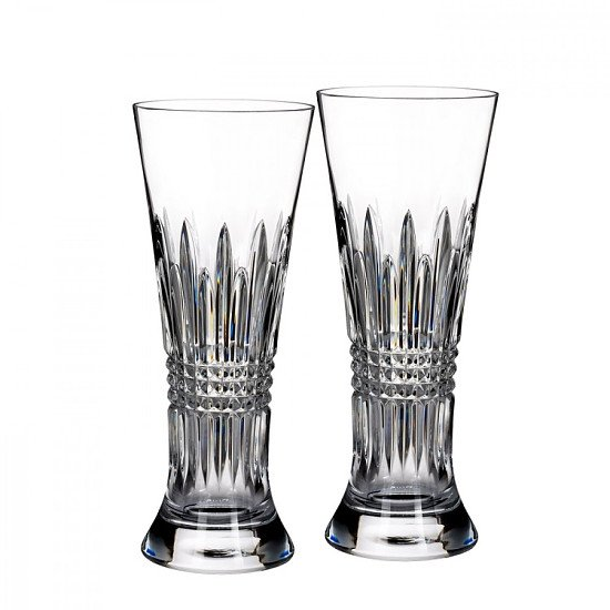 SALE ON LISMORE GLASS - Lismore Diamond Pilsner (Set of 2)!