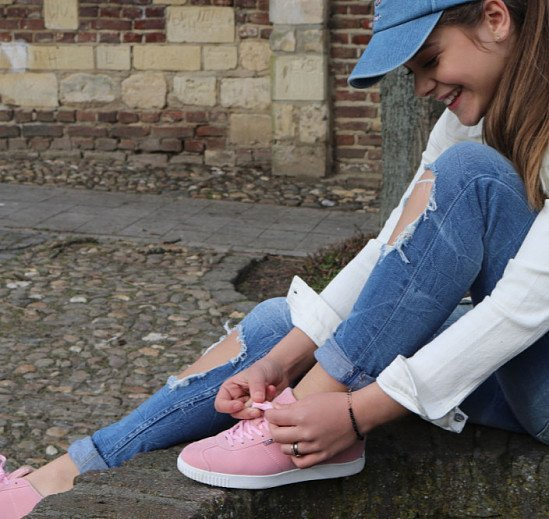 SAVE UP TO 20% ON WOMENS TRAINERS - POINT SOFT PINK!