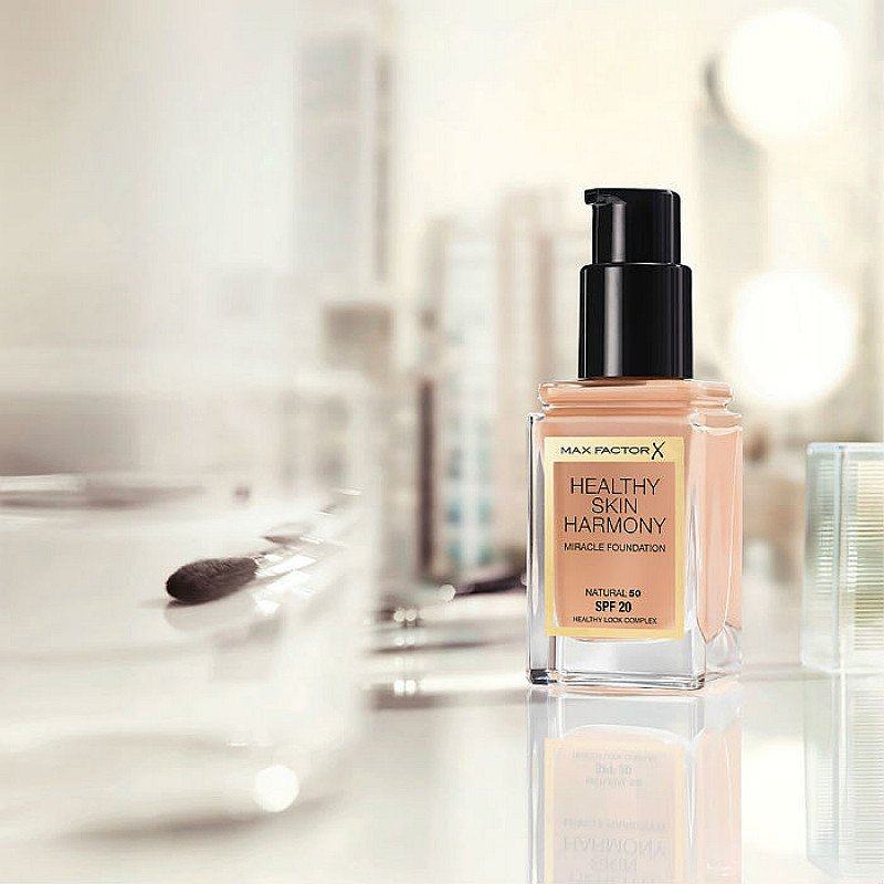 SAVE UP TO 80% ON MAKEUP - Inc. Max Factor Healthy Skin Harmony!