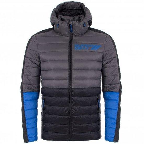 SALE ON MENS DESIGNER COATS, GET 50% OFF - SUPERDRY Fuji Colour Block Jacket!