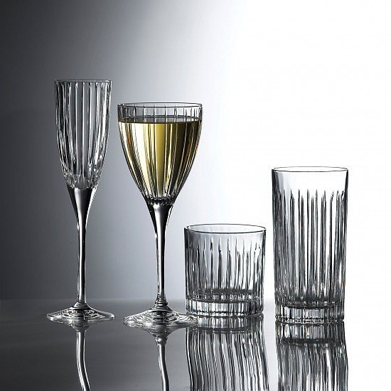 SALE ON GLASS WEAR - Linear Double Old Fashioned Tumbler (Set of 6)!