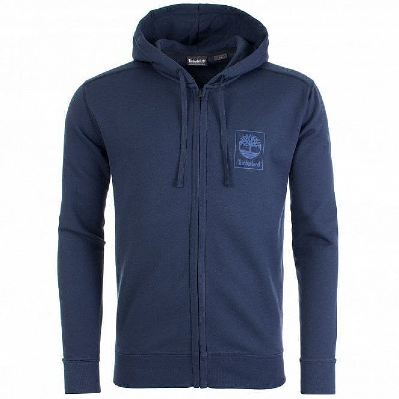 SALE, GET UP TO 50% OFF MEN'S CLOTHING - TIMBERLAND Full Zip Back Logo Hoodie!