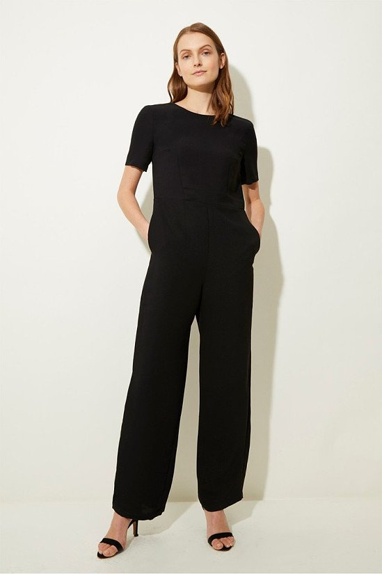 HUGE REDUCTIONS IN OUR WINTER SALE - Gia Round Neck Jumpsuit!