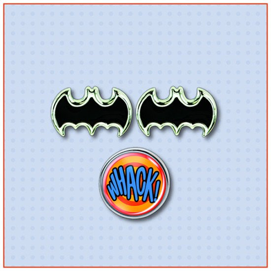 Batman Retro style Cufflinks