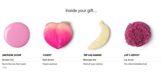 Naughty but nice Valentine's Day gifts - Limited Edition Happy Hour Gift: £24.95!