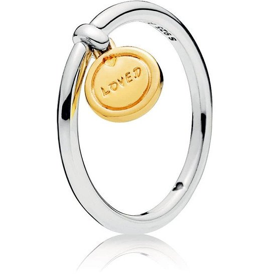 NEW for Valentines Day - PANDORA Shine Medallion of Love Ring!