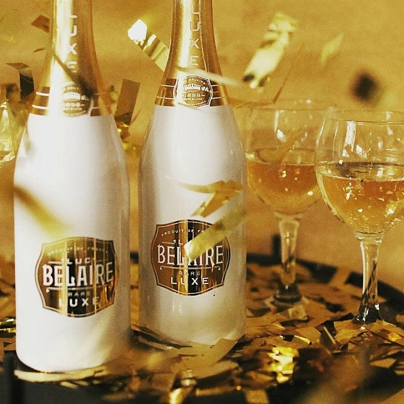 SALE ON OUR BEST DRINKS - Luc Belaire, Luxe!