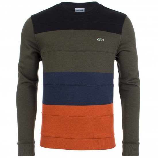 GET UP TO 40% OFF LACOSTE - LACOSTE Colour Block Sweat!