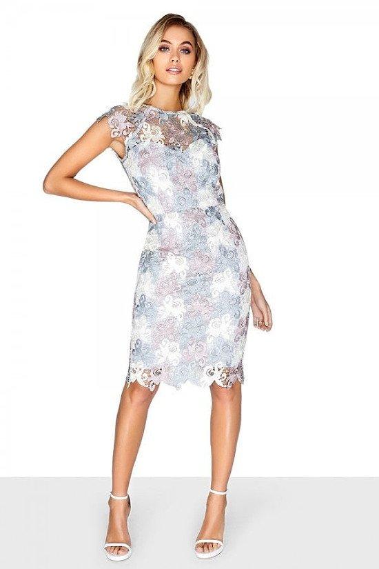 SALE ON DRESSES - OUTLET PAPER DOLLS AVIGNON MULTI CROCHET LACE DRESS!