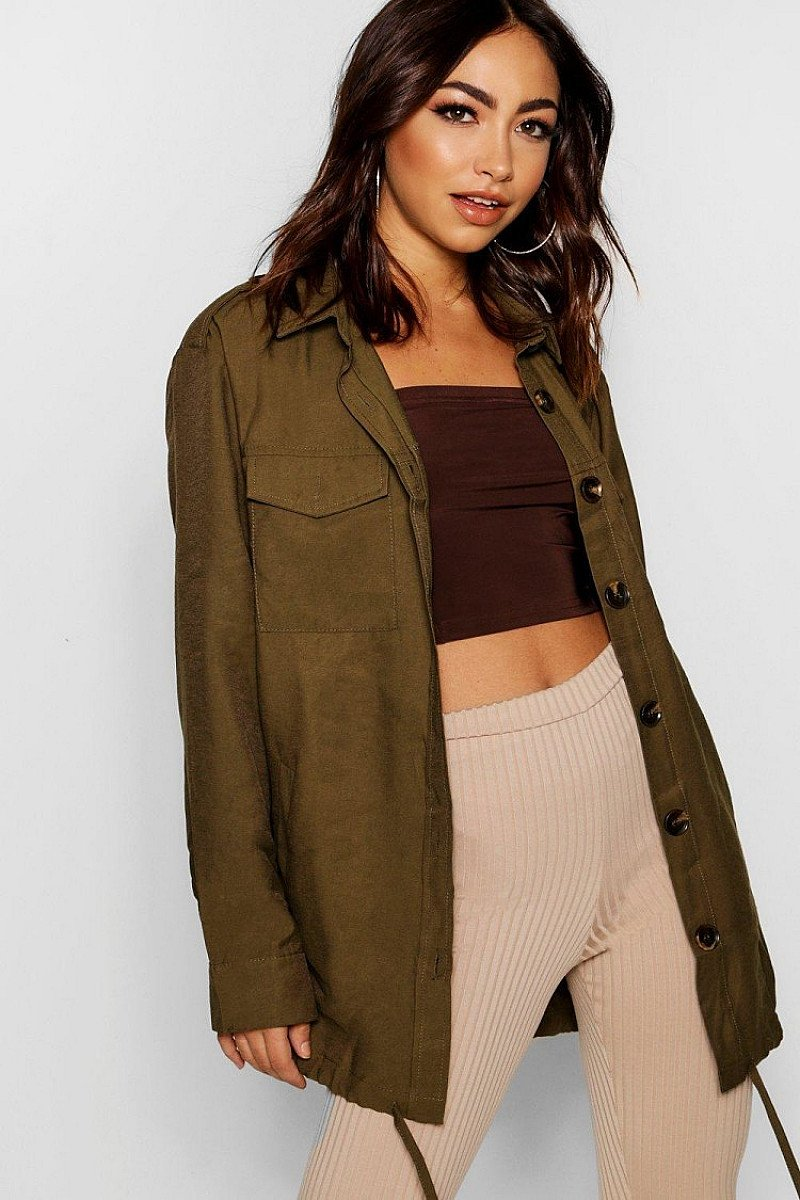 SALE, GET 48% OFF - Oversized Utility Jacket!
