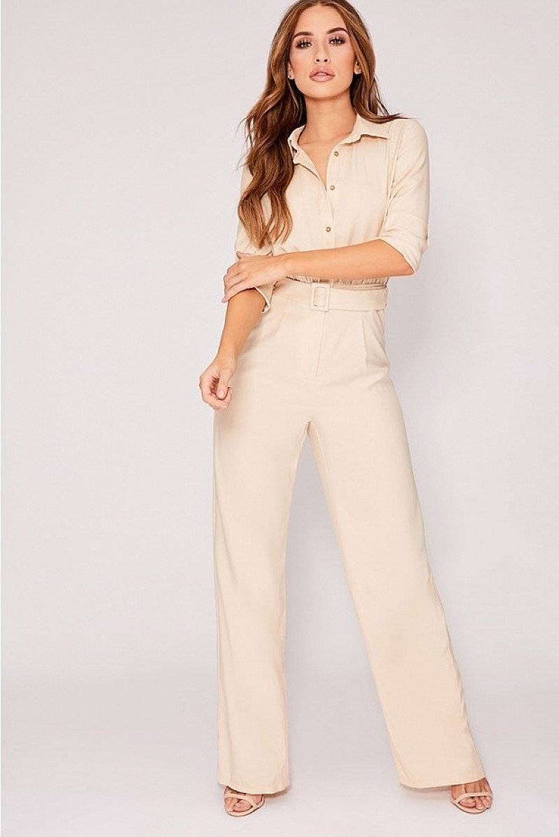 SALE - JANIA STONE UTILITY D RING JUMPSUIT!