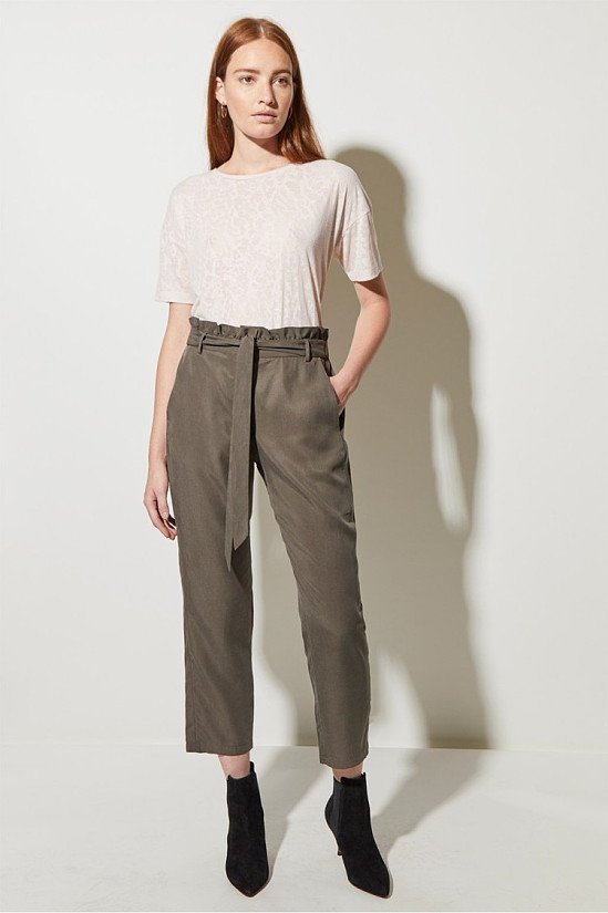SALE - Everyday Luxe Belted Trousers!