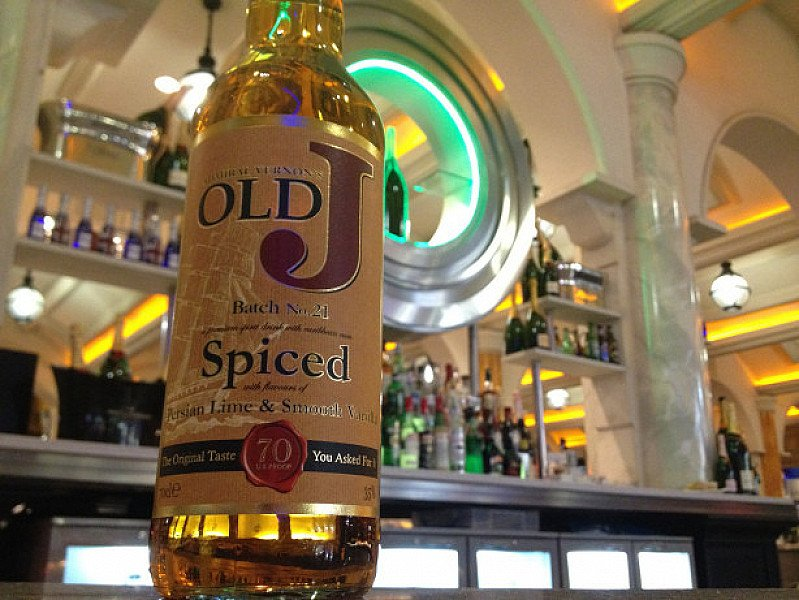 SALE - Admiral Vernons, Old J Tiki Fire Spiced Rum!