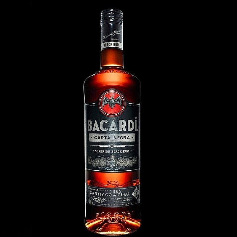 SALE - Bacardi, Black (Carta Negra)!