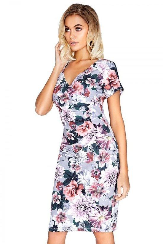 Sale On Wedding Wear - OUTLET PAPER DOLLS FLORAL GATHERED DRESS!