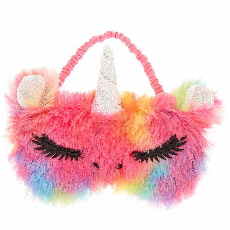 SALE - Furry Rainbow Unicorn Sleeping Mask!