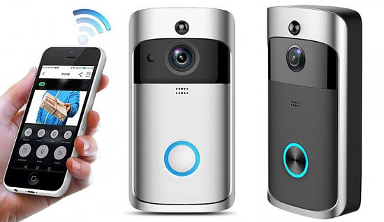 SAVE 84% - WiFi Security Video Doorbell - 2 Colours!