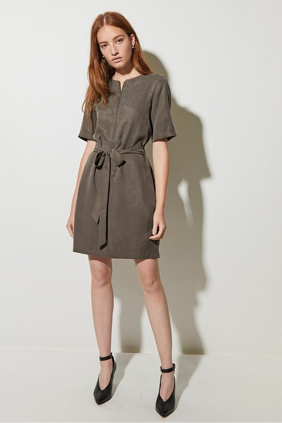 SALE - Everyday Belted Mini Dress!