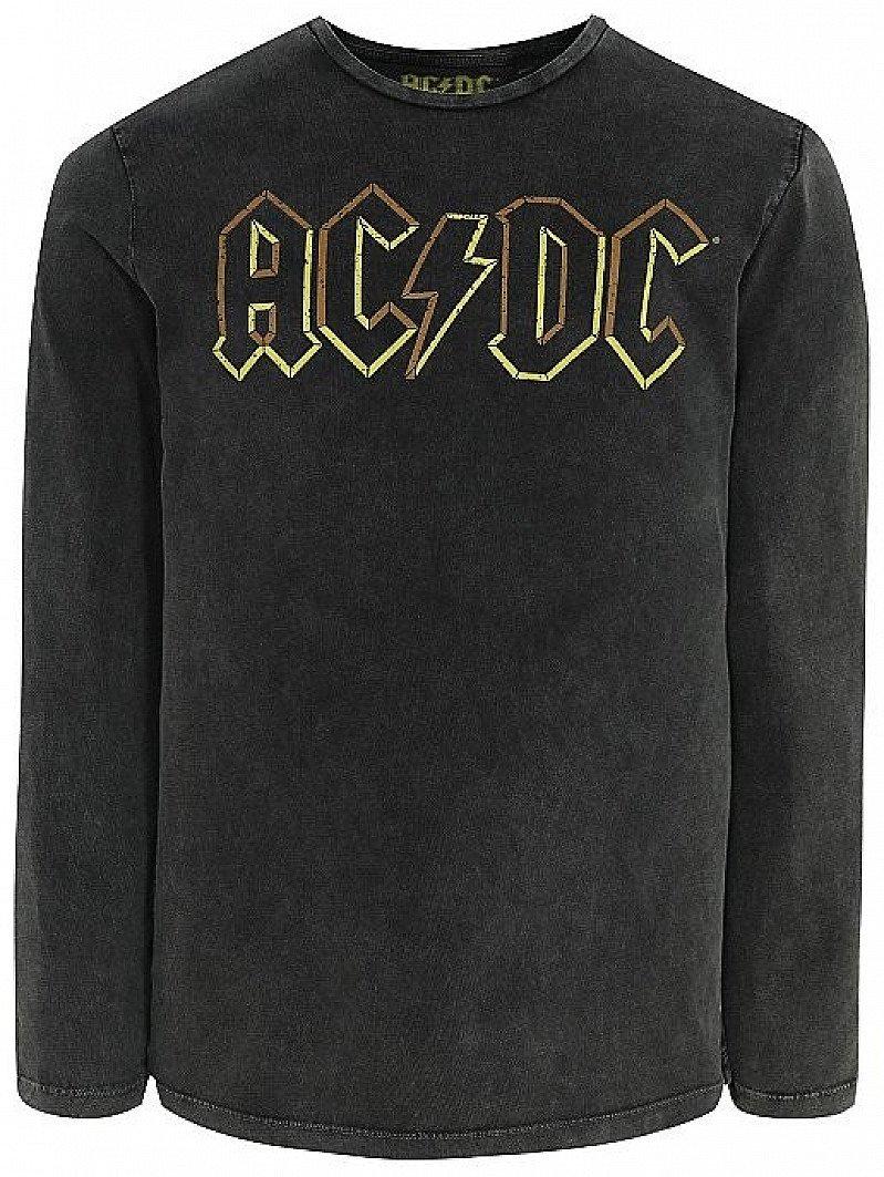 MEN'S SALE - Charcoal AC/DC Long Sleeve Top!