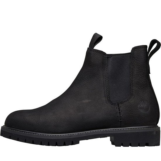 SALE, SAVE £75.00 - Timberland Mens 6 Inch Premium Chelsea Boots Jet Black!