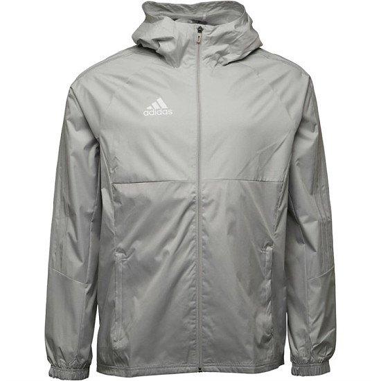 NEW IN, SAVE £18.00 - adidas Mens Tiro 17 Rain Jacket Stone/White!