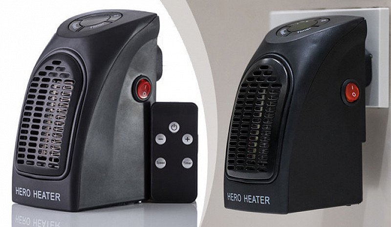 SALE, SAVE 58% - Hero Heater with Remote Control!