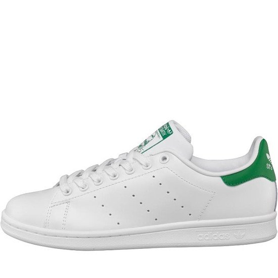 VALENTINES DAY GIFTING - adidas Originals Mens Stan Smith Trainers White/Green!